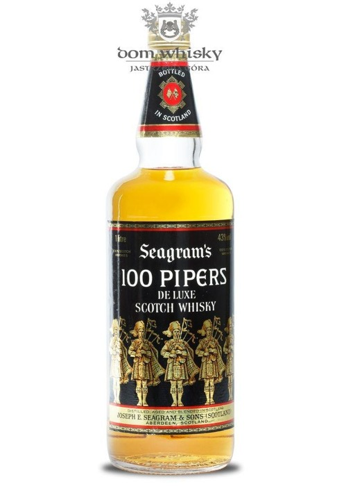 Seagram's 100 Pipers / 43% / 1,0l