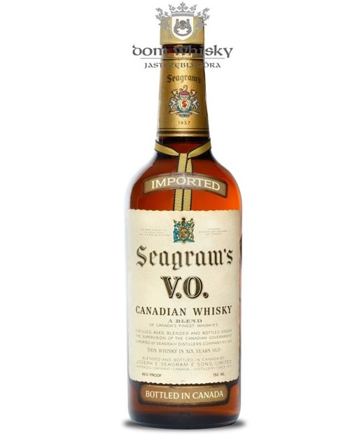 Seagram's VO Canadian 1976 / 43% / 0,75l
