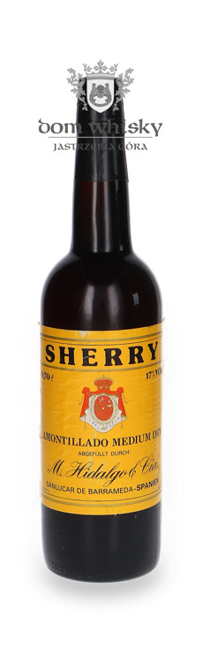 Sherry Amontillado Medium Dry, M.Hidalgo & Cia / 17% / 0,7l
