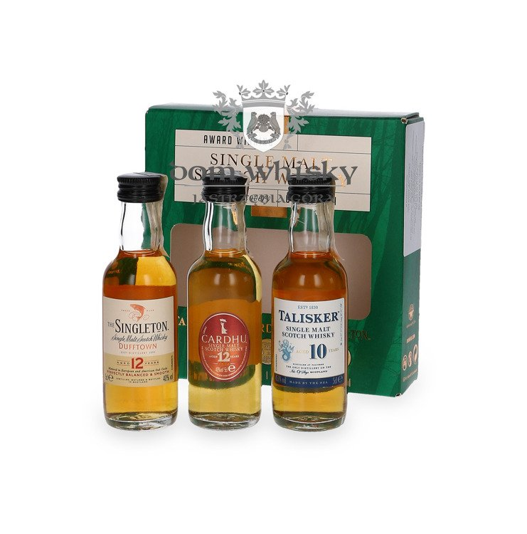 Single Malt Discovery Collection / 41,93% / 3x0,05l