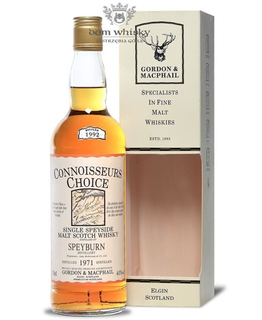 Speyburn 1971 (Bottled 1992) Connoisseurs Choice / 40% / 0,7l