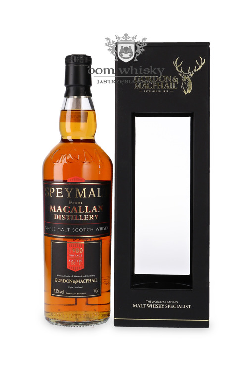 Speymalt from Macallan Distillery (D.1980, B.2013) G&M /43%/0,7l