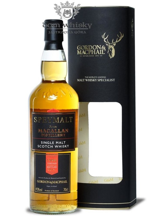 Speymalt from Macallan Distillery (D.1994, B.2014) G&M /43%/0,7l