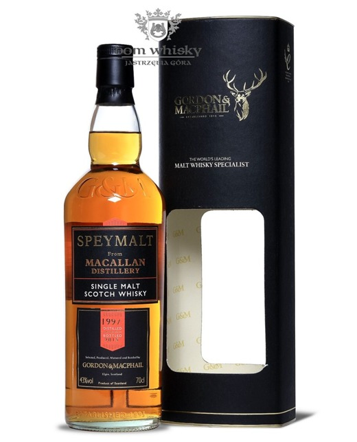 Speymalt from Macallan Distillery (D.1997, B.2015) G&M /43%/0,7l