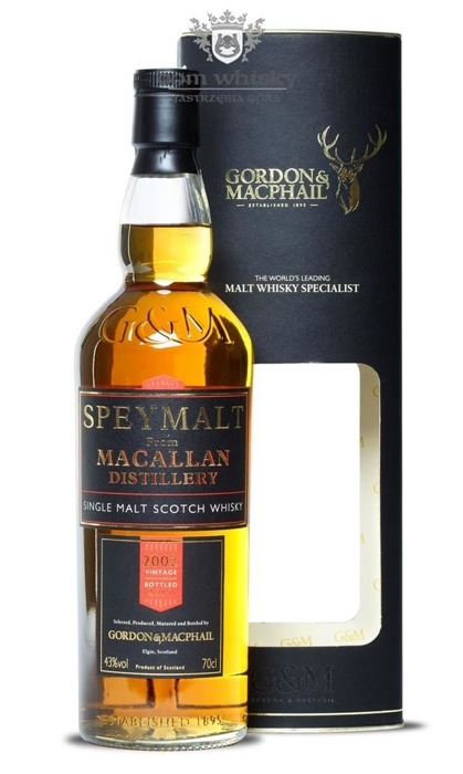 Speymalt from Macallan Distillery (D.2002, B.2011) G&M /43%/0,7l