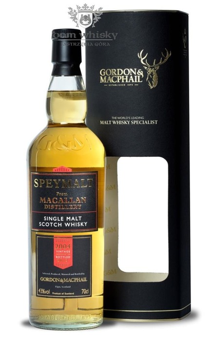 Speymalt from Macallan Distillery (D.2004, B.2013) G&M /43%/0,7l