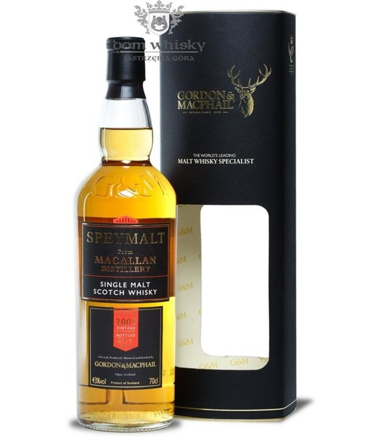 Speymalt from Macallan Distillery (D.2005, B.2014) G&M /43%/0,7l