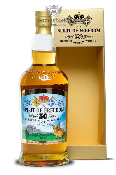 Spirit of Freedom 30-letni (Springbank) / 46% / 0,7l