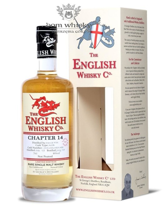 St. George's Distillery Chapter 14, Not Peated/ 46%/ 0,7l