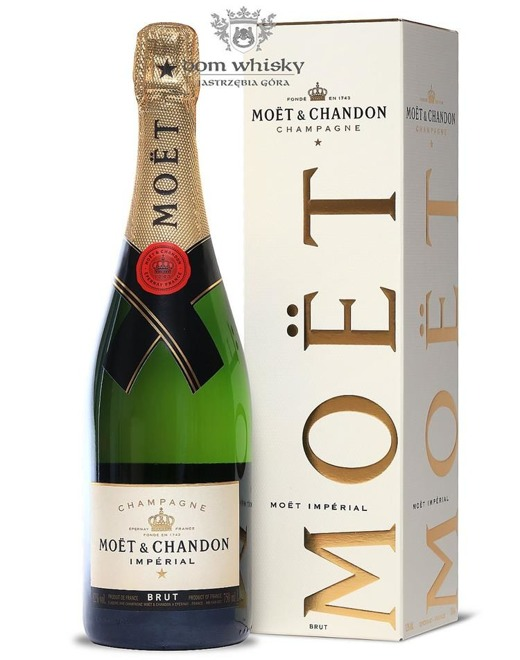 Szampan Moet & Chandon Brut Imperial /Box/ 12% / 0,75l