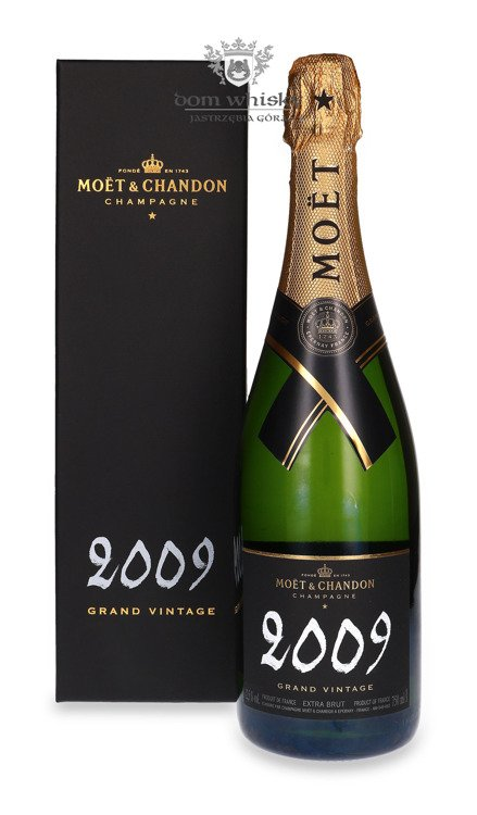 Szampan Moet & Chandon Grand Vintage 2009 / Box / 12,5% / 0,75l