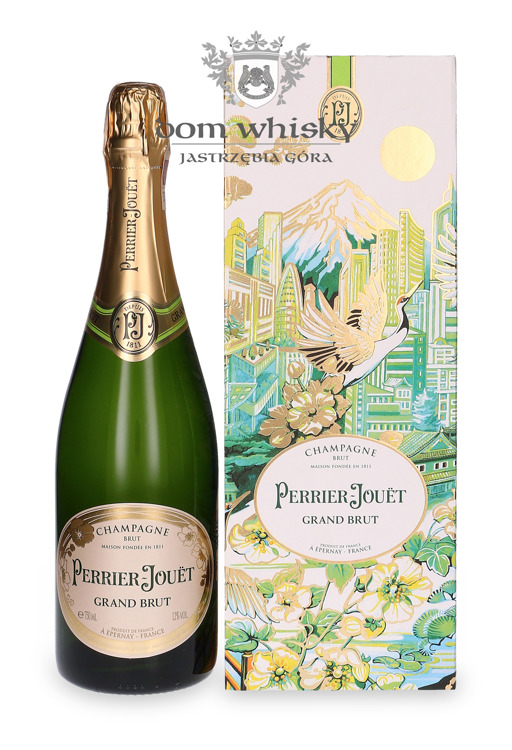 Szampan Perrier-Jouet Grand Brut City Gift Box / 12,5% / 0,75l