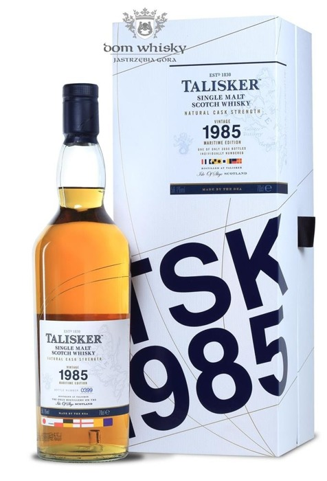 Talisker 1985 Vintage Maritime Edition (Bottled 2013) / 56,1% / 0,7l