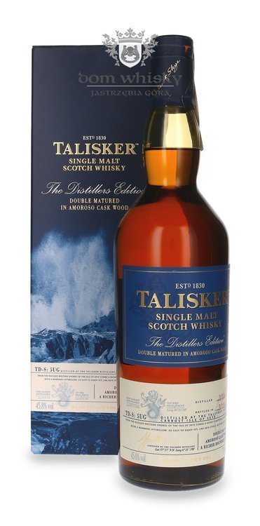 Talisker 2008 Distillers Edition (Bottled 2018) / 45,8% / 0,7l