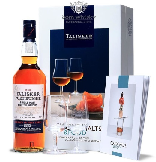 Talisker Port Ruighe (with tasting glasses) / 45,8% / 0,7l