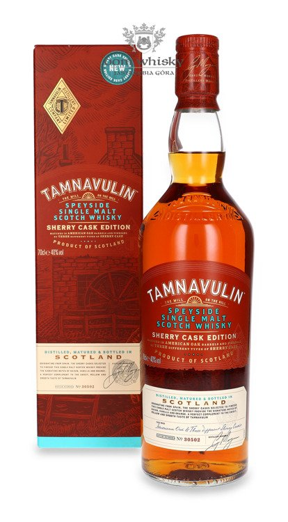 Tamnavulin Sherry Cask Edition/ 40% / 0,7l