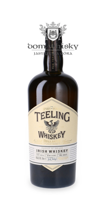 Teeling Irish Whiskey Small Batch Rum Cask 2017/ 46% / 0,7l