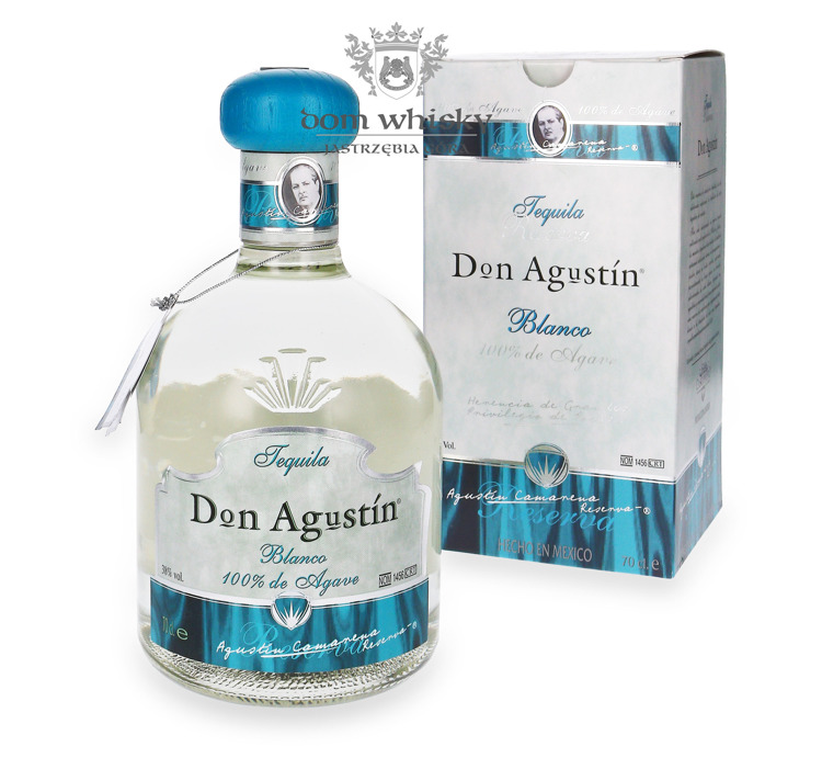 Tequila Don Agustin Blanco 100% Agave / 38% / 0,7l