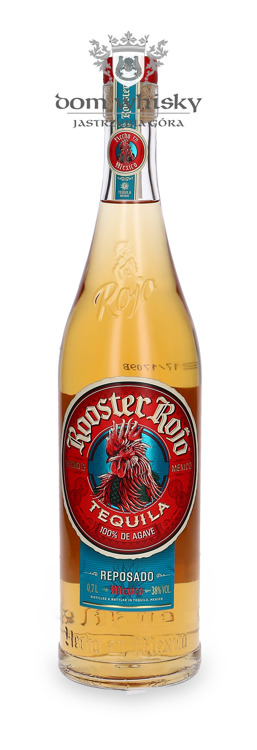Tequila Rooster Rojo Reposado 100% Agave / 38% / 0,7l