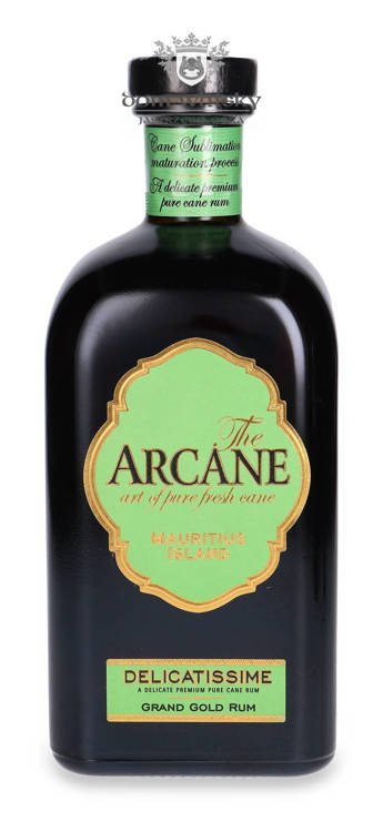 The Arcane Delicatissime Grand Gold Rum Mauritius Island / 41% / 0,7l