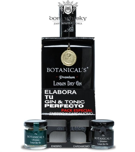 The Botanical's Premium London Dry Gin / zestaw / 42,5% / 0,7l