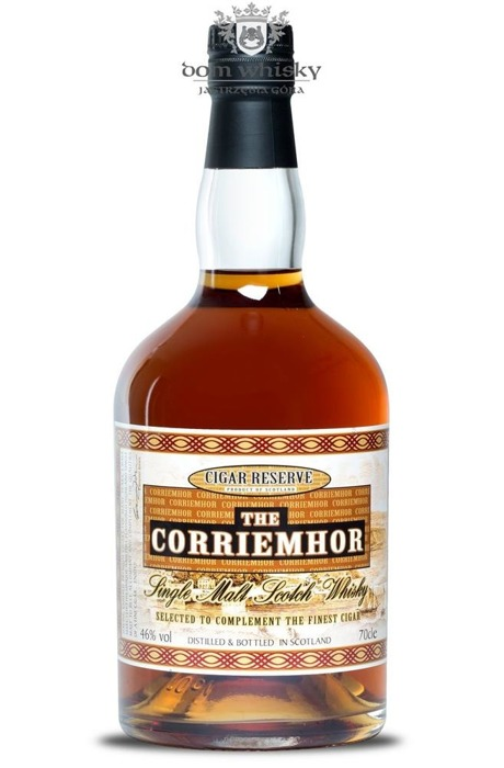 The Corriemhor Cigar Reserve Single Malt / 46% / 0,7l