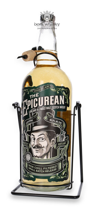 The Epicurean Lowland Blended Malt (With a Cradle) / 46,2% / 4,5l