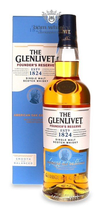The Glenlivet Founder's Reserve / 40% / 0,7l