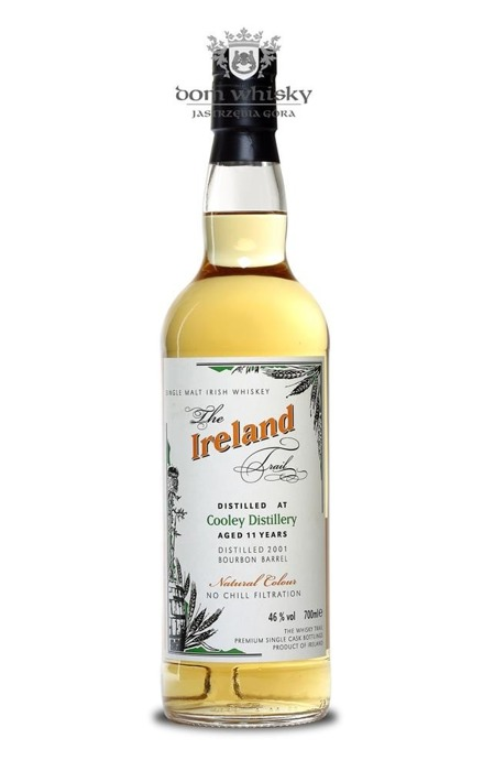 The Ireland Trail Cooley Distillery 11 letni  / 46% / 0,7l