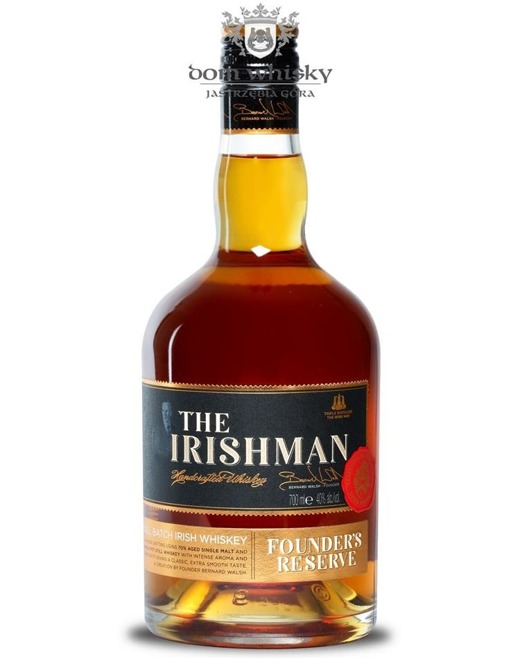 The Irishman Founder's Reserve / 40% /0,7l