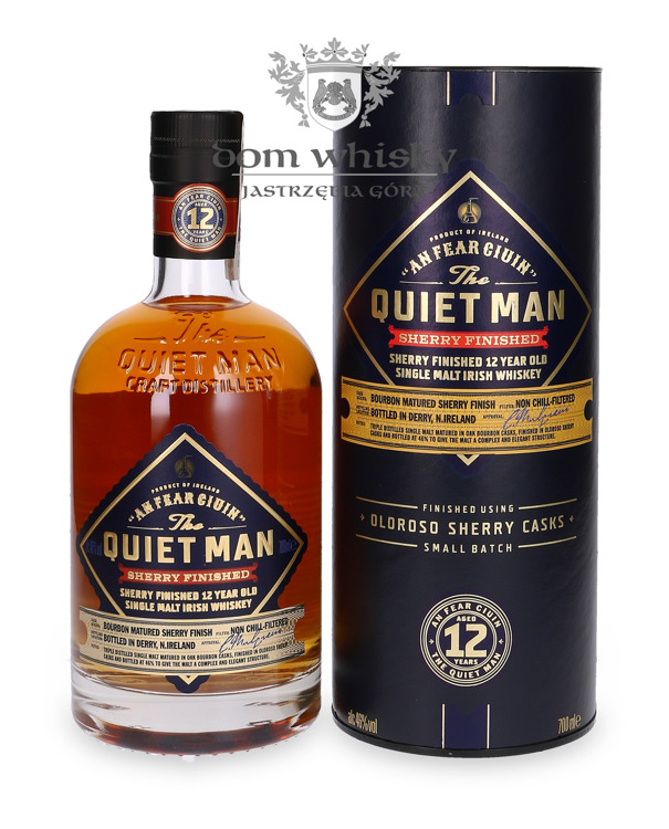 The Quiet Man 12-letni Oloroso Sherry Finished / 46%/ 0,7l