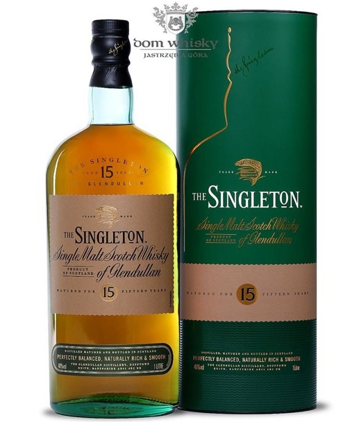 The Singleton of Glendullan 15-letni / 40% / 1,0l