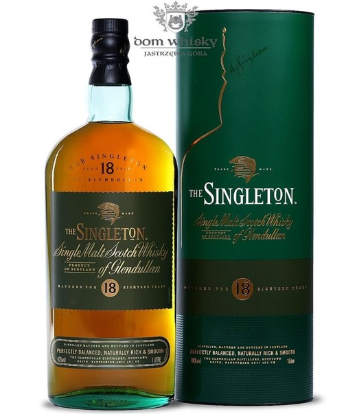 The Singleton of Glendullan 18-letni / 40% / 1,0l