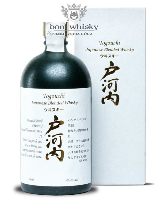 Togouchi Blended Whisky / 40% / 0,7l
