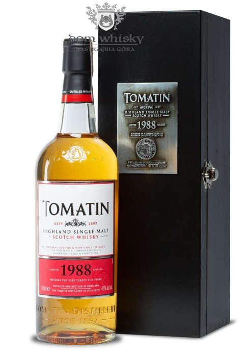 Tomatin 1988 Limited Release - Batch 1 / 46% / 0,7l