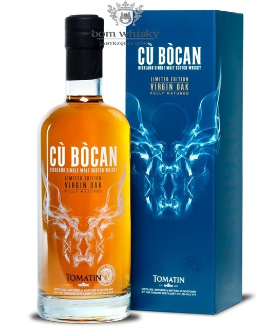 Tomatin Cù Bòcan Virgin Oak / 46% / 0,7l