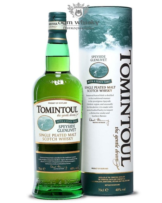 Tomintoul Peaty Tang / 40% / 0,7l