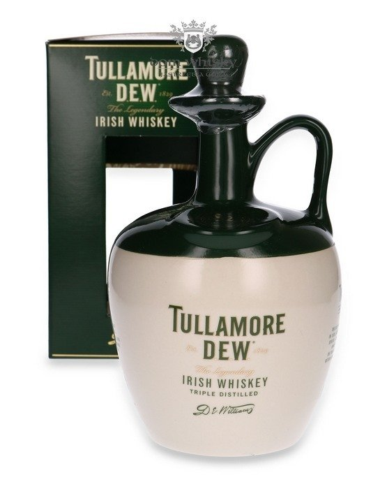Tullamore Dew Blended Irish Whiskey, Ceramic Jug / 40%/ 0,7l