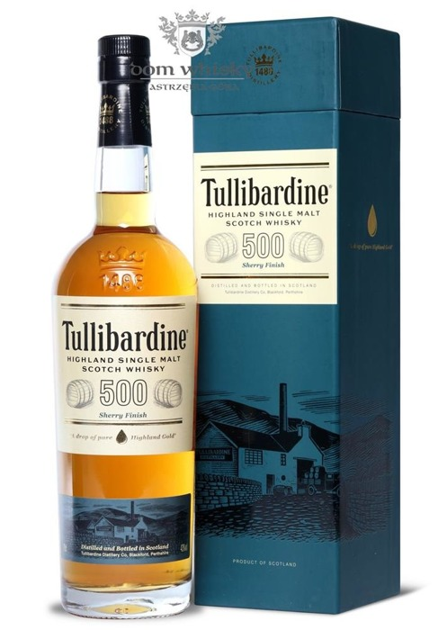 Tullibardine 500 Sherry Finish / 43% / 0,7l