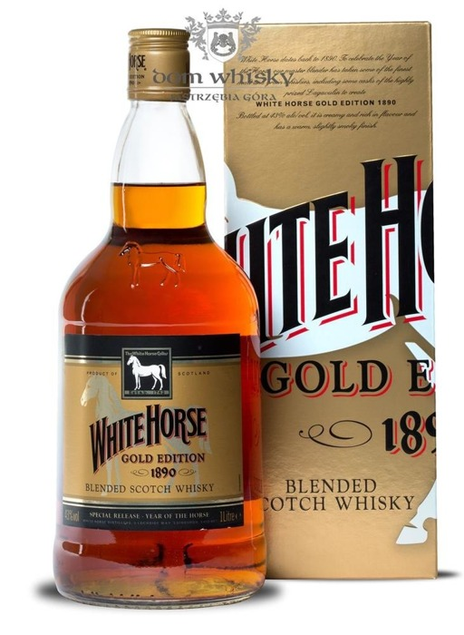 White Horse Gold Edition 1890 Blended Scotch Whisky / 43% / 1,0l