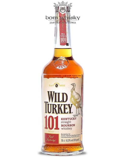 Wild Turkey 101 Proof / 50,5% / 0,7l