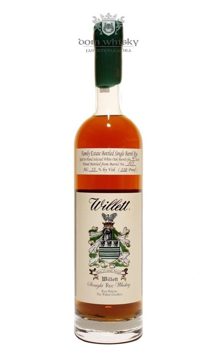 Willett Straight Rye Kentucky Whiskey 4 letni / 55% / 0,75l