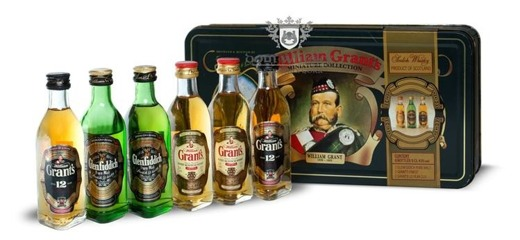 William Grant's Miniatur Gift Set / 6 x 0,05l
