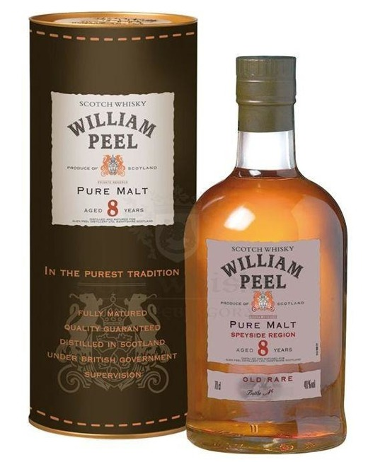 William Peel Pure Malt 8 letni / 40% / 0,7