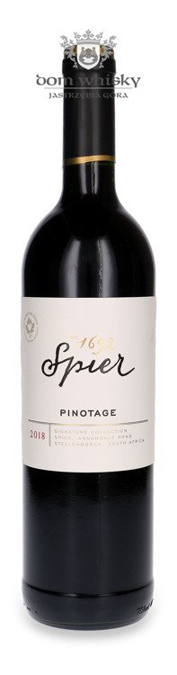 Wino Spier Pinotage Red (South Africa) /13,5%/ 0,75l