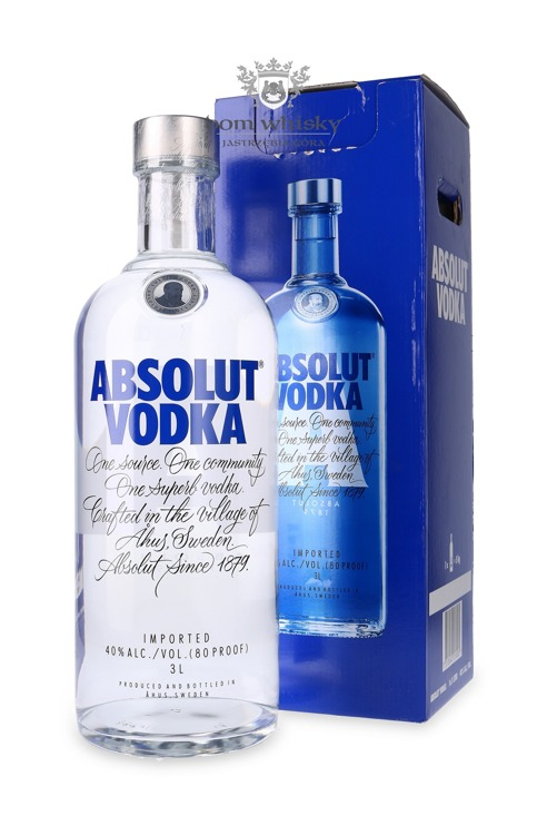 Wódka Absolut Blue / 40% / 3,0l