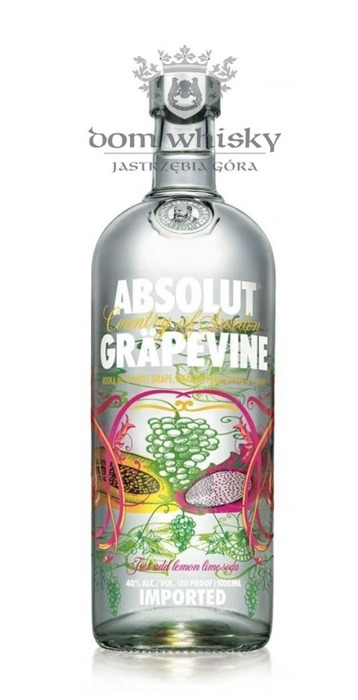 Wódka Absolut Grapevine  / 40% / 1,0l