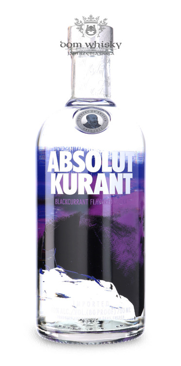 Wódka Absolut Kurant / 40% / 0,7l