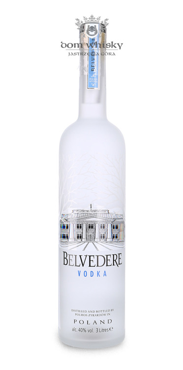 Wódka Belvedere Pure Illumination Bottle / 40% / 3,0l