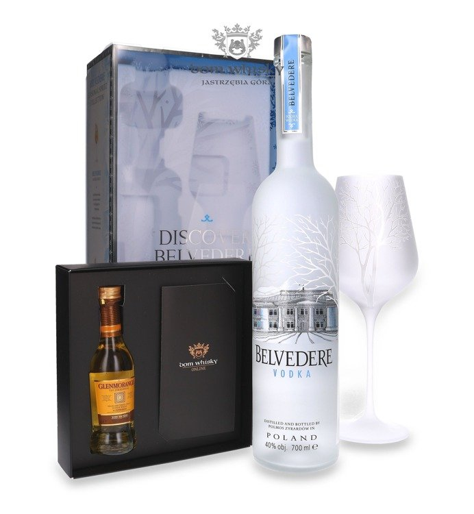 Wódka Belvedere Pure Spritz Glass / 40% / 0,7l